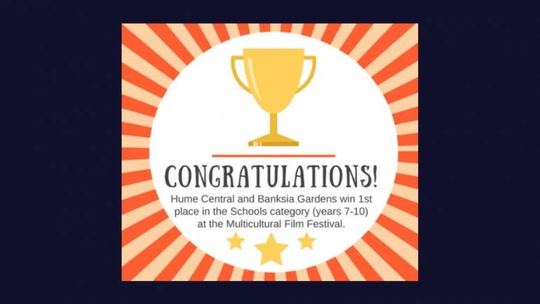 Multicultural Film Festival Yr 7-9 Category – Hip Hop Project